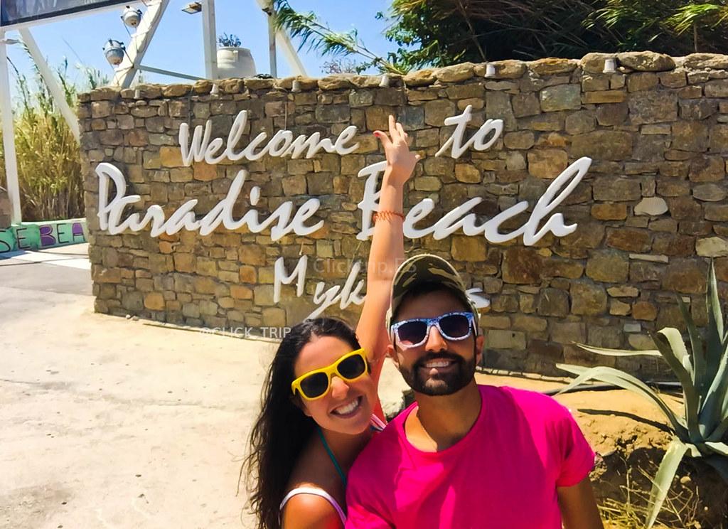 Paradise Beach | Una de las mejores playas de Mykonos | ClickTrip.Es