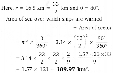 NCERT Solutions for Class 10 Maths Chapter 12 Areas Related to Circles 24