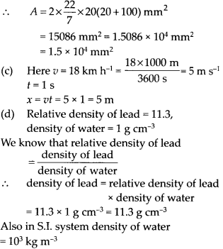 NCERT Solutions for Class 11 Physics Chapter 2 Units and Measurements