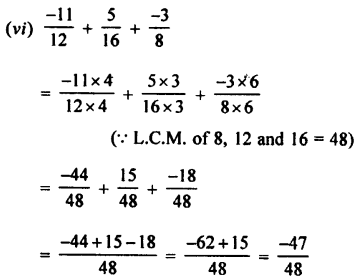 Selina Concise Mathematics class 7 ICSE Solutions - Rational Numbers-c3.....