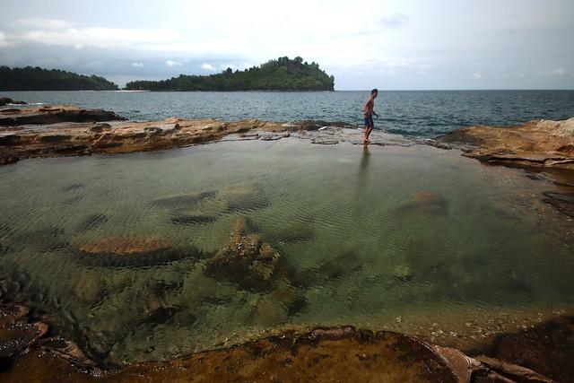 Natural Infinity Pool - Bisaya-Bisaya Islet