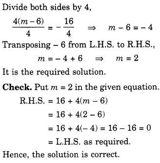 NCERT Solutions for Class 7 Maths Chapter 4 Simple Equations 42