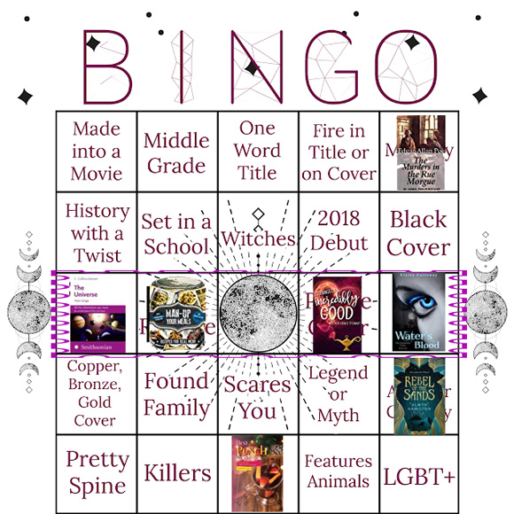 Autumn Book Bingo 2018 Oct