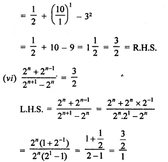 RD Sharma Class 9 Solutions Chapter 2 Exponents of Real Numbers Ex 2.2 - 3aa.....