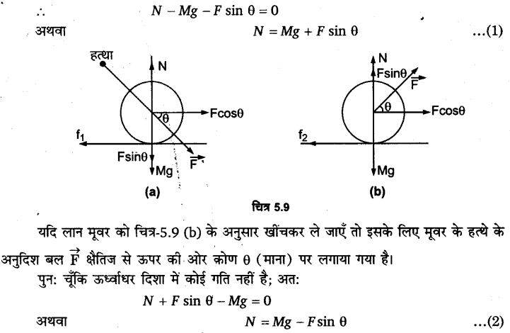 UP Board Solutions for Class 11 Physics Chapter 5 Laws of motion 27