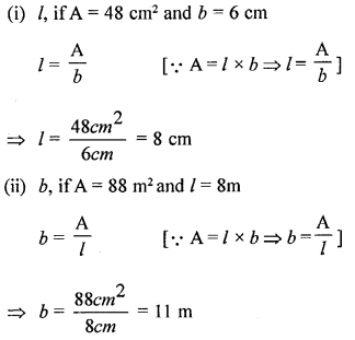 Selina Concise Mathematicsclass 6 ICSE Solutions -Perimeter and Area of Plane Figures-b3