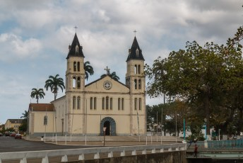 De kathedraal van São Tomé.