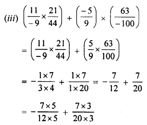 Selina Concise Mathematics class 7 ICSE Solutions - Rational Numbers-d3.....