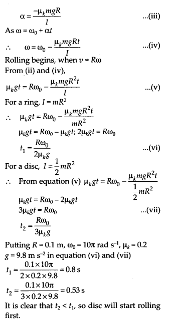 NCERT Solutions for Class 11 Physics Chapter 7 System of particles and Rotational Motion 41