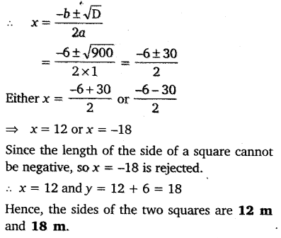 NCERT Solutions for Class 10 Maths Chapter 4 Quadratic Equations 39