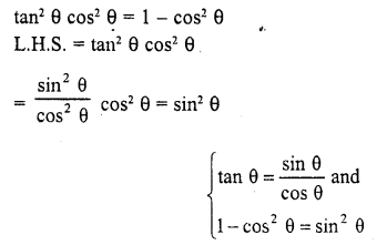 RD Sharma Class 10 Chapter 6 Trigonometric Identities