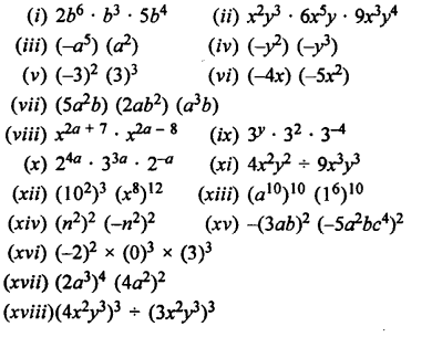 Selina Concise Maths class 7 ICSE Solutions - Exponents (Including Laws of Exponents)-3