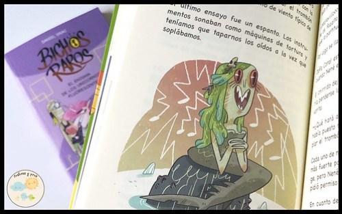Libros Bichos raros. Reseña