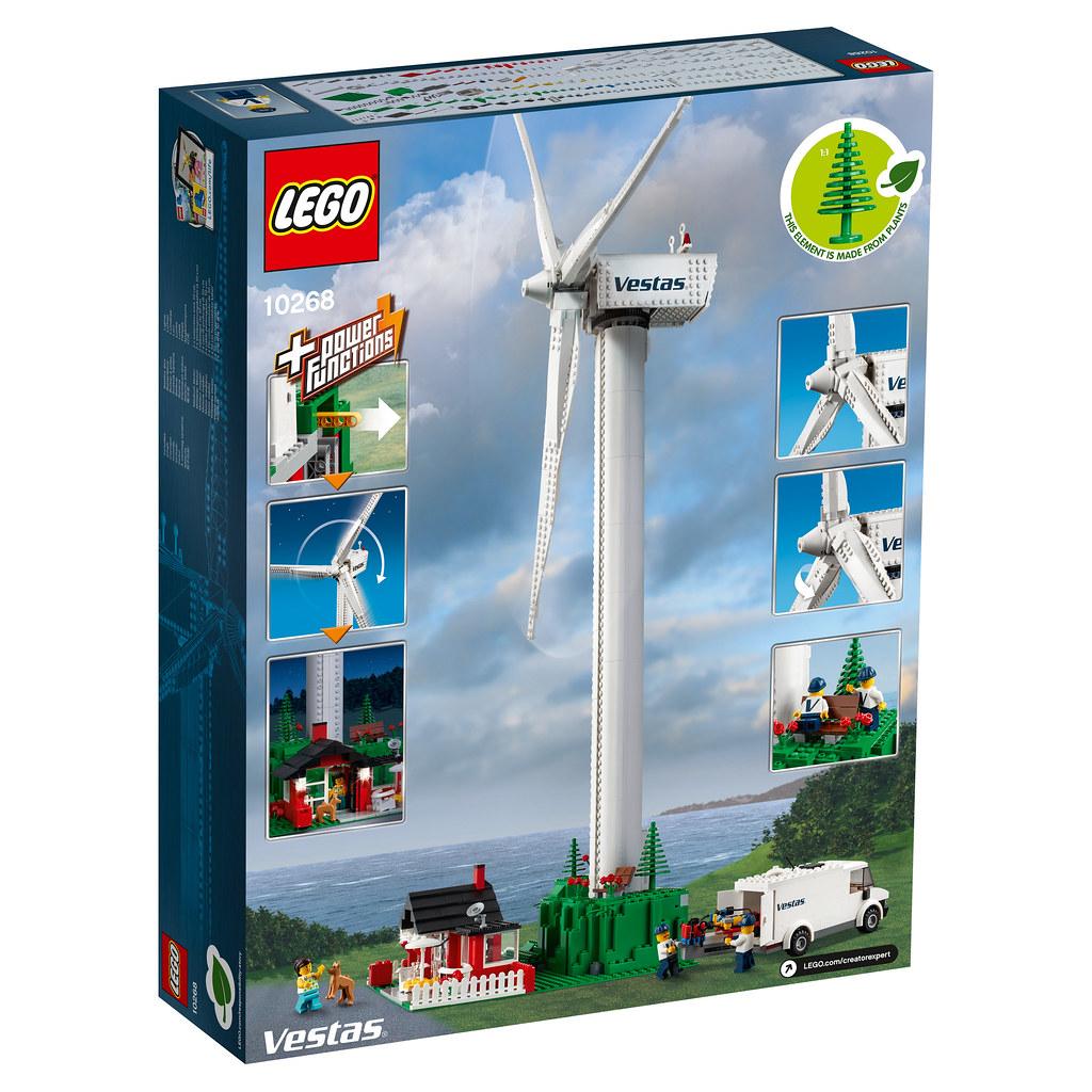 Turbine Creator Lego Réédition Wind 10268 Q8fes Expert Vestas L'annonce E2IW9HD