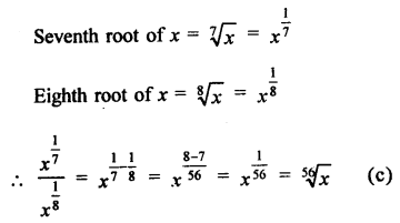 RD Sharma Class 9 Solutions Chapter 2 Exponents of Real Numbers MCQS - 4a