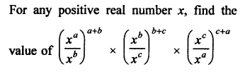 RD Sharma Class 9 Solutions Chapter 2 Exponents of Real Numbers VSAQS - 10