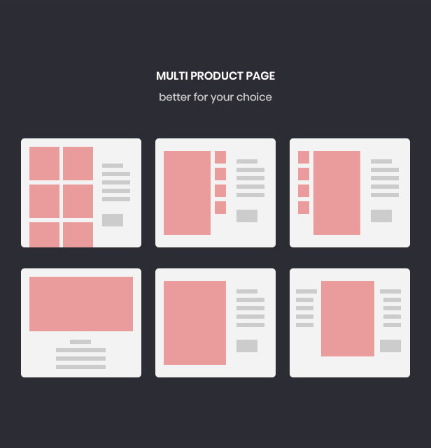 Multi-product-page style