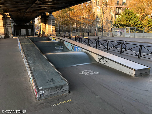 Skatepark Quai De La Gare 75