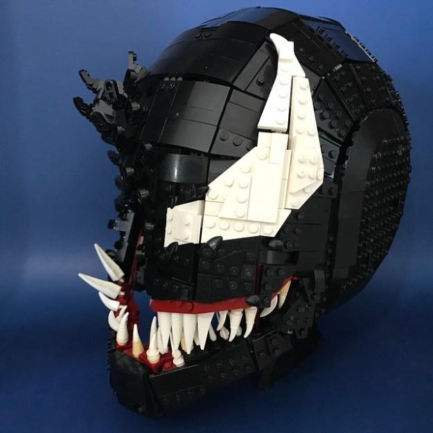 We Are Venom Wearable Lego Helmet