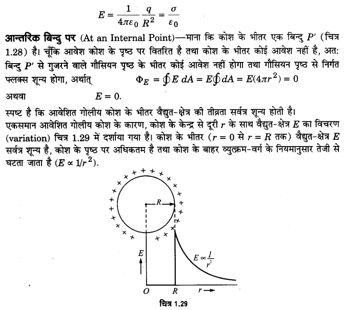 UP Board Solutions for Class 12 Physics Chapter 1 Electric Charges and Fields LAQ 12.3