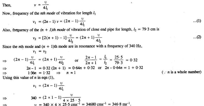 NCERT Solutions for Class 11 Physics Chapter 15 Waves - Learn Insta