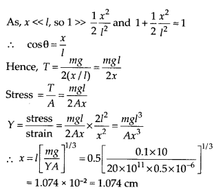 NCERT Solutions for Class 11 Physics Chapter 9 Mechanical properties of solid 23