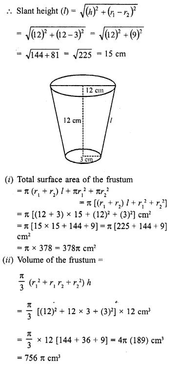 RD Sharma Class 10 Solutions Chapter 14 Surface Areas and Volumes Ex 14.3 8