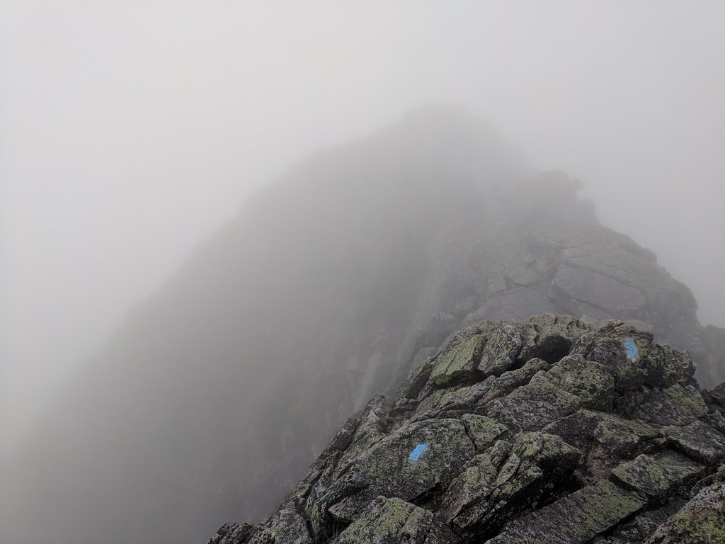 Mount Katahdin Knife Ridge Route
