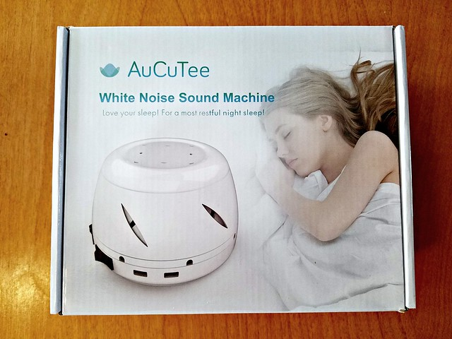 AuCuTee White Noise Machine Review