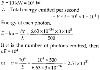 NCERT Solutions for Class 12 Physics Chapter 11 Dual Nature of Radiation and Matter 43