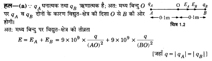 UP Board Solutions for Class 12 Physics Chapter 1 Electric Charges and Fields Q8