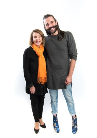 JVN and Nancy Pelosi at Bentzen Ball 2018 - Jeff Martin-9597