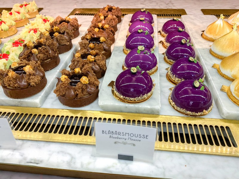Pastries at Wienercaféet