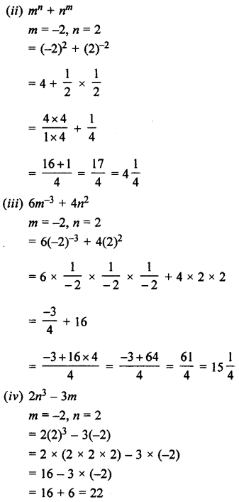 Selina Concise Maths class 7 ICSE Solutions - Exponents (Including Laws of Exponents)-6b...