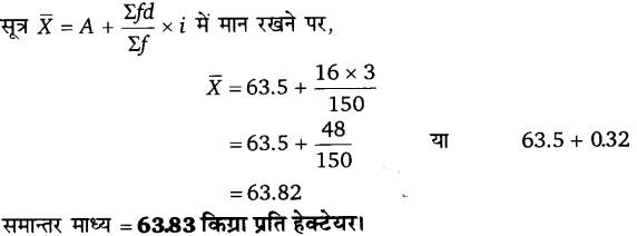 UP Board Solutions for Class 11 Economics Statistics for Economics Chapter 5 Measures of Central Tendency 20