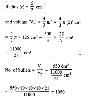 RD Sharma Class 10 Solutions Chapter 14 Surface Areas and Volumes Ex 14.1 2