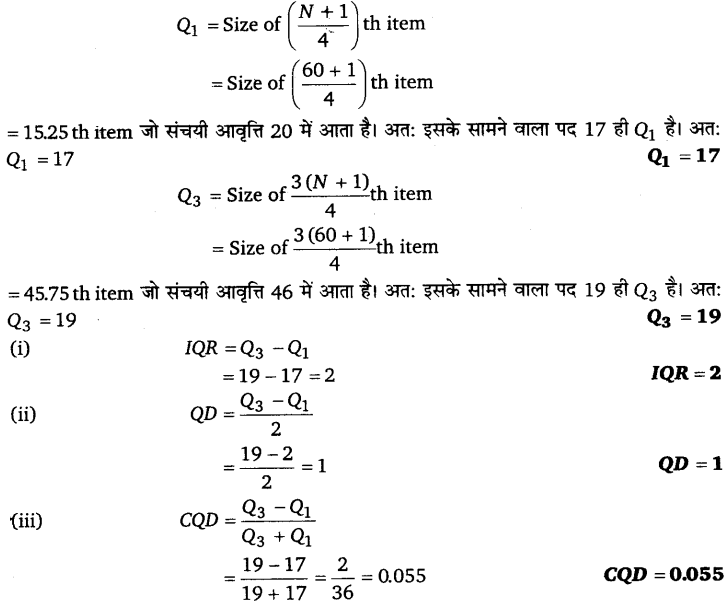 UP Board Solutions for Class 11 Economics Statistics for Economics Chapter 6 Measures of Dispersion 60