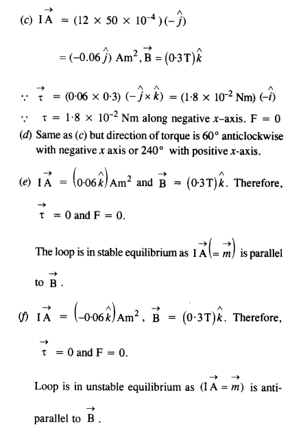 NCERT Solutions for Class 12 physics Chapter 4.28