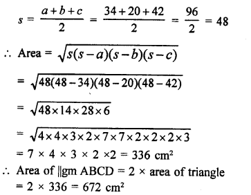RD Sharma Class 9 PDF Chapter 17 Constructions