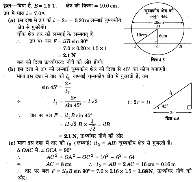 UP Board Solutions for Class 12 Physics Chapter 4 Moving Charges and Magnetism Q23