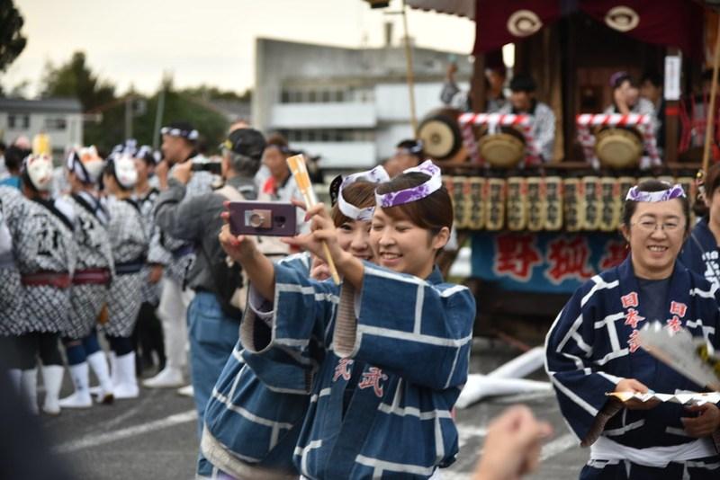 佐倉の秋祭り 13