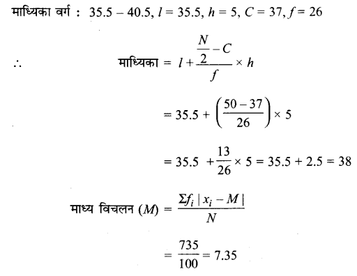UP Board Solutions for Class 11 Maths Chapter 15 Statistics 15.1 12.2