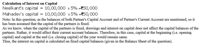 TS Grewal Accountancy Class 12 Solutions Chapter 1 Accounting for Partnership Firms - Fundamentals Q37