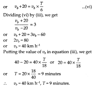 NCERT Solutions for Class 11 Physics Chapter 3 Motion in a Stright line 8