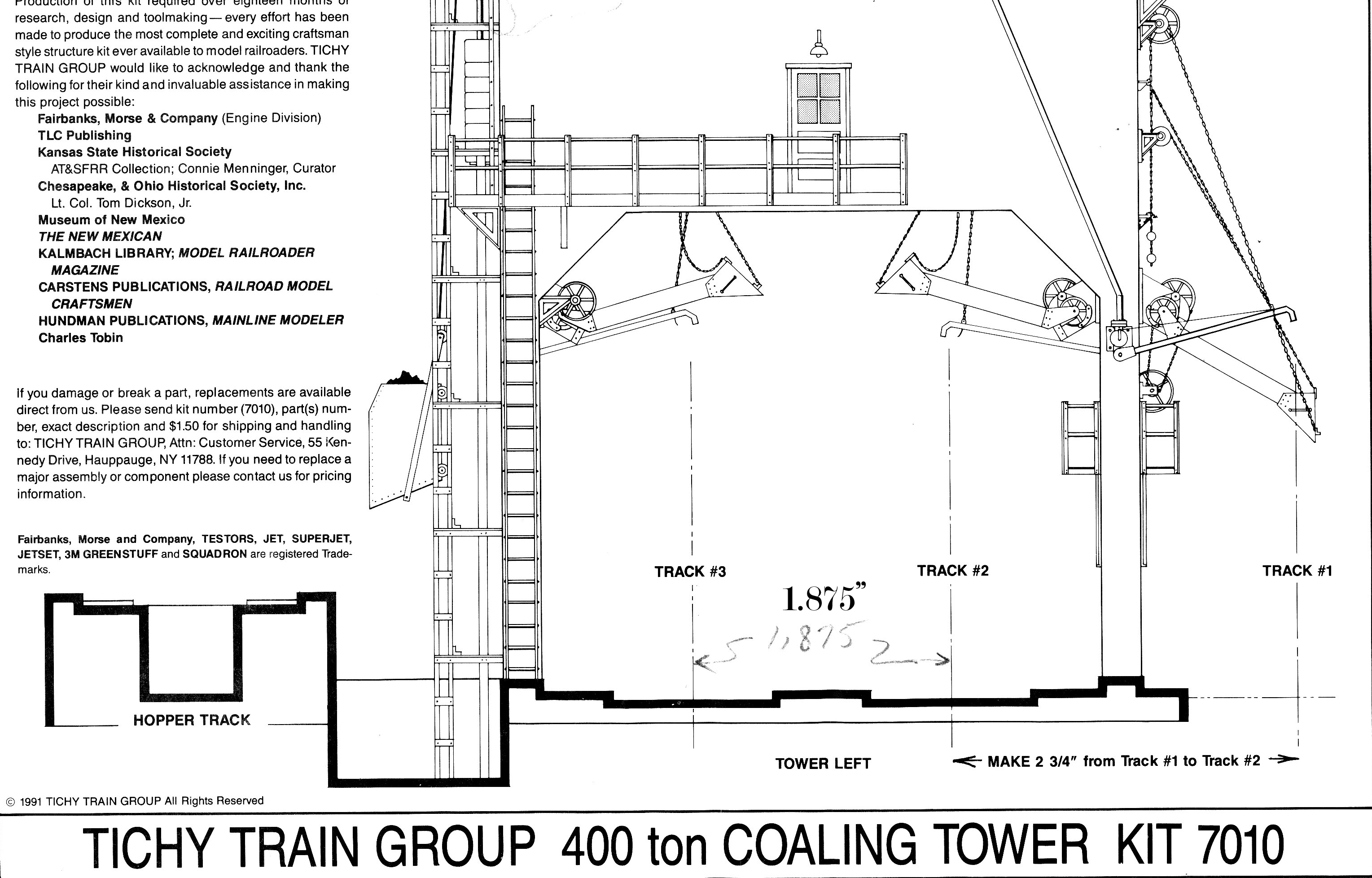 Tichy Coaling Tower Construction