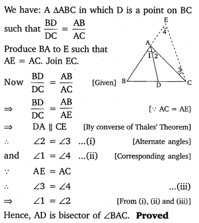 NCERT Solutions for Class 10 Maths Chapter 6 Triangles 110