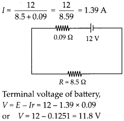 NCERT Solutions for Class 12 Physics Chapter 3 Current Electricity 23
