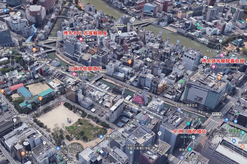 yoshizukaunagi map