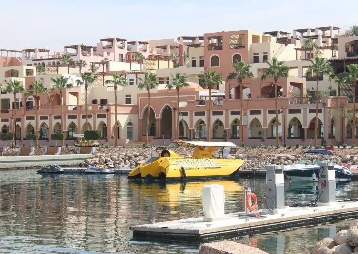 Neptun Submarine and Tala Bay, Red Sea, Aqaba, Iordania