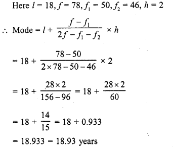 RD Sharma Class 10 Solutions Chapter 15 Statistics Ex 15.5 4b